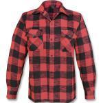 Mil-Tec Holzfällerhemd schwarz / rot L