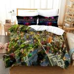 Minecraft Bettwäsche Set 2tlg.3tlg.Bettbezug Kissenbezug 135x200|200x200|220x240