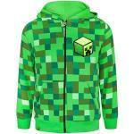 Grüne Minecraft Kindermode für Jungen