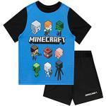 Schwarze Minecraft Kindermode für Jungen