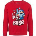 Minecraft Like a Boss Jungen Pullover (5-6 years)