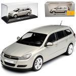 Minichamps Opel Astra Caravan H Kombi Beige Champagner 2004-2010 1/43 Modell Auto