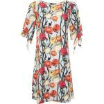 Minikleid Kleid Gzhel Madam-T grau / orange