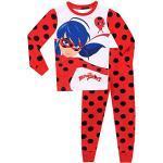 Miraculous Ladybug Mädchen Ladybug Schlafanzug - Slim Fit - 116