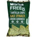 Mister Free'd Tortilla Chips Kale & Spinach 135g