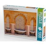 Mit Mosaiken verzierte Brunnen in Fes 1000 Teile Puzzle quer [4056502447924]