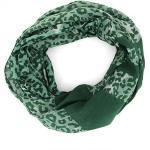 mitienda Loop »Loopschal aus Baumwolle grün ANIMAL«