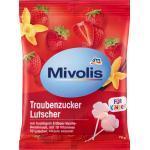 Mivolis Lutscher, Traubenzucker Erdbeer-Vanille 10 St (75 g)