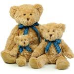 Hellbraune Teddys