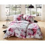 Fuchsiafarbene Moderne Bettwaesche-mit-Stil Schlafzimmermöbel mit Magnolienmotiv