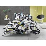 Hellblaue Moderne Bettwaesche-mit-Stil Baumwollbettwäsche