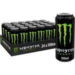 Monster Energy, 24x500 ml, Einweg-Dose, mit klassischem Energy- Geschmack