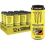 Monster Energy The Doctor, 12x500 ml, Einweg-Dose, mit prickelndem Zitrusgeschmack und der legendären Monster Energy-Mischung