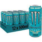 Monster Energy Ultra Fiesta, 12x500 ml, Einweg-Dose, Zero Zucker und Zero Kalorien
