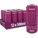 Monster Punch Energy Drink, 12er Pack, EINWEG (12 x 500 ml)