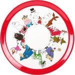 "Moomin Rundes Tablett ""Mumin Characters"" von ma..."