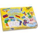Moosgummi Fingerpuppen-Set, 61-teilig