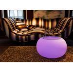 Moree Bubble Indoor LED Leuchttisch Filz Violett - Hocker