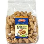 Morgenland Erdnüsse in der Schale geröstet 330g, 4er Pack (4 x 330 g) - Bio