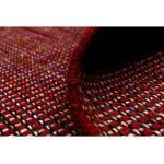 morgenland Wollteppich Kelim Teppich Arvin, rechteckig, 10 mm Höhe, Kurzflor rot Schurwollteppiche Naturteppiche Teppiche
