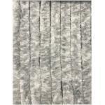 Moritz Türvorhang »Flauschvorhang aus Chenille 90 x 200 cm grau weiß«, Hakenaufhängung (1 Stück), weiß