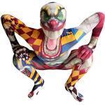 Morphsuits Clown Kostüm Kinder, Monster Verkleidung für Halloween und Karneval - M (105cm-119cm)