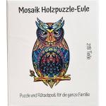Mosaik Holzpuzzle - Eule 218 Teile