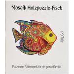 Mosaik Holzpuzzle - Fisch 179 Teile