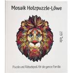 Mosaik Holzpuzzle - Löwe - 219 Teile