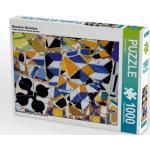 Mosaiken, Barcelona 1000 Teile Puzzle quer [4056502140207] Ein Motiv aus dem Kalender Kacheln und Mosaiken in Barcelona