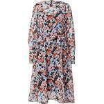 MOSS COPENHAGEN Kleid 'Ammalie' schwarz / rosa / rostrot / azur