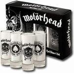 Motörhead Schnapsgläser 4-er Set , Glas, transparent, in Geschenkverpackung