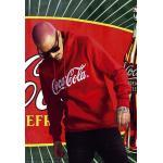 Mr. Tee Coca Cola Classic Hoody red