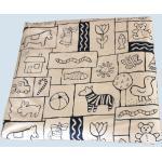 mudis Ersatzbezug für Wickelauflage - Baumwolle, Bio Qualität