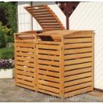 Mülltonnenbox Vario III für 2 Tonnen von PROMADINO