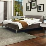 Musterring Bett San Diego 180 x 200 cm Holzoptik Braun