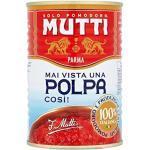 Mutti Fein Gehackte Tomaten 400 G - Packung mit 4