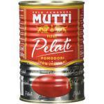 Mutti Pelati Schältomaten, 6er Pack (6 x 400 g)