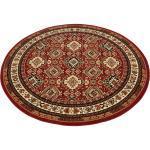 my home Teppich »Diantha«, rund, Höhe 9 mm, Orient - Dekor, Wohnzimmer, rot, rot