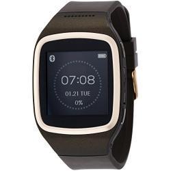 MyKronoz ZeSplash Smartwatch für Android/Apple iPhone braun