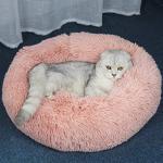 MYYXGS OrthopäDisches Hundebett Comfort Donut Waschbares Kissenbett FüR Hunde Und Katzen 80Cm