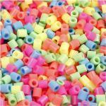 NABBI Bügelperlen 5 x 5mm pastellfarben medium 1100 Stück