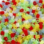 NABBI Bügelperlen 5 x 5mm transparentfarben medium 1100 Stück