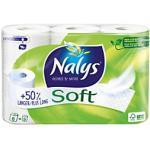Nalys Toilettenpapier Soft Maxi 2-lagig 6 Rollen à 210 Blatt