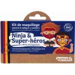 namaki Ninja & Superhero Face Painting Kit - 1 Set