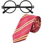 NATUCE Brille Krawatte Kostüm für Kinder Cosplay Kostüme Accessoires Set