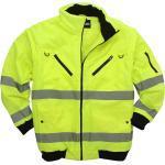 Neongelbe Arbeitsjacke / -weste von marc&mark in großen Größen bis 10XL
