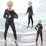 NET TOYS Grease Kostüm Sandy 50er Jahre Outfit M 40/42 sexy Rockabella Damenkostüm Rockabilly Karnevalskostüm Rock'n'Roll Frauenkostüm Musical Mottoparty