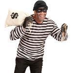Schwarze NET TOYS Bankräuber-Kostüme Größe L