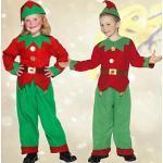NET TOYS Zwergenkostüm Wichtelkostüm für Kinder L 152/164 9 – 12 Jahre Kinderkostüm Zwerg Faschingskostüm Weihnachtself Kobold Kostüm Weihnachtskostüm Gnom Jungen